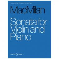 MacMillan, J.: Violinsonate »Before the Tryst«