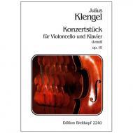 Klengel, J.: Konzertstück d-Moll, Op. 10