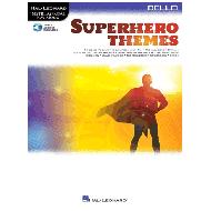 Superhero Themes for Cello (+Online Audio)