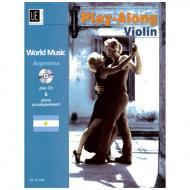World Music Play Along Violin: Argentina (+CD)