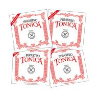 TONICA »NEW FORMULA« violin string SET by Pirastro