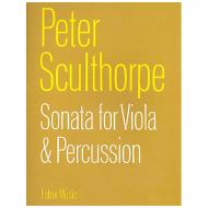Sculthorpe, P.: Sonata for viola and percussion (1960)