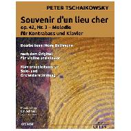 Tschaikowski, P.: Souvenir d'un lieu cher Op. 42 Nr. 3 Melodie