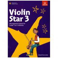 Jones, E. H.: Violin Star 3 (+CD)