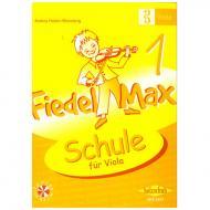 Holzer-Rhomberg, A.: Fiedel-Max für Viola Schule 1 (+CD)