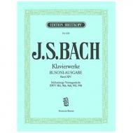 Bach, J. S.: Mehrsätzige Vortragsstücke BWV 903, 906, 968, 992, 998