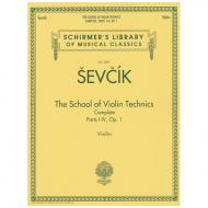 Sevcik, O.: The School of Violin Technics Complete