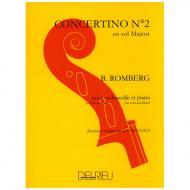 Romberg, B.: Concertino Nr. 2 – 1. Satz  G-Dur
