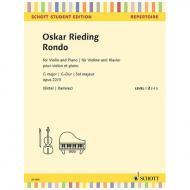 Rieding, O.: Rondo Op. 22/3 G-Dur