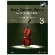 Deserno, K. / Mohrs, R.: Easy Concert Pieces Band 3 (+CD)