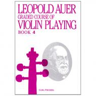Auer, L.: Graded Course of Violin Playing 4