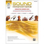 Sound Innovations for String Orchestra: Creative Warm-Ups - Violoncello / Kontrabass (+Online Video und Audio)
