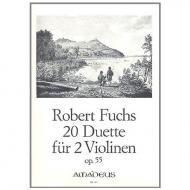 Fuchs, R.: 20 Duette Op. 55