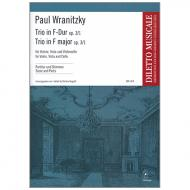 Wranitzky, P.: Trio in F-Dur Op.3/1