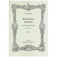 Reinecke, C.: Weihnachtssonatine Op. 251/3 (Sitt)
