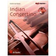Perlman, G.: Indian Concertino (+CD)