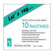 Joplin, S.: Let's rag – Begleit-CD