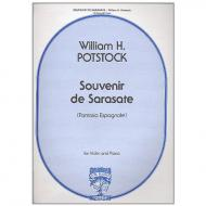 Potstock, W. H.: Souvenir de Sarasate – Fantasia espagnole Op. 15