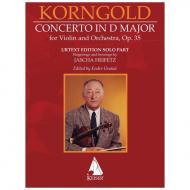 Korngold, E. W.: Violinkonzert D-Dur, Op. 35