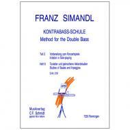 Simandl, F.: Kontrabass-Schule Band 8