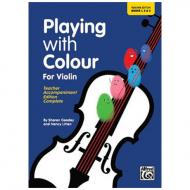 Litten, N./Goodey, S.: Playing With Colour For Violin – Teacher Book