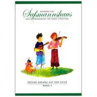 Sassmannshaus, E.: Früher Anfang auf der Geige Band 3