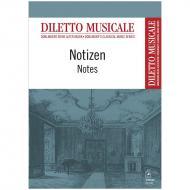 Notizheft »Diletto musicale« DIN A6