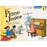 Heumann, H.: Piano Junior – Lesson Book 1 Vol. 1