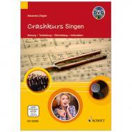 Ziegler, A.: Crashkurs Singen (+DVD)