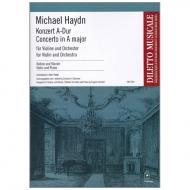 Haydn, M..: Violinkonzert A-Dur