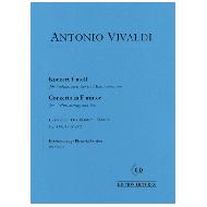 Vivaldi, A.: Violinkonzert f-Moll Op. 8 Nr. 4 (RV 297) – Der Winter
