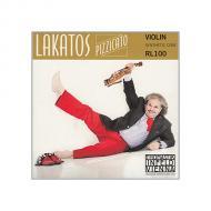LAKATOS Pizzicato Violinsaite A von Thomastik-Infeld