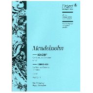 Mendelssohn Bartholdy, F.: Violinkonzert e-moll Op. 64 MWV O 14