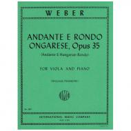 Weber, C. M. v.: Andante e Rondo Ungharese Op. 35