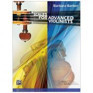 Barber, B: Scales for Advanced Violinists