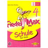 Holzer-Rhomberg, A.: Fiedel-Max für Viola Schule 4 (+CD)