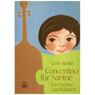 Sanke, K.: Concertino für Sabine