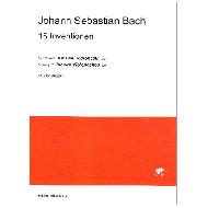 Bach, J. S.: 15 Inventionen für Violoncelli