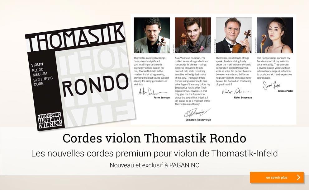 Thomstik Rondo cordes violon >